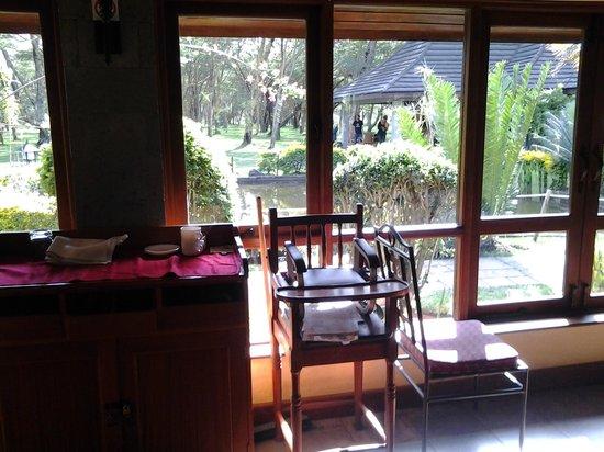 Lake Naivasha Simba Lodge: Dining Room