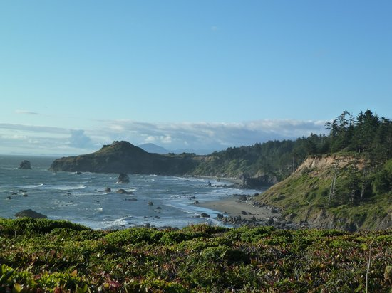 Otter Point State Recreation Site: beach view