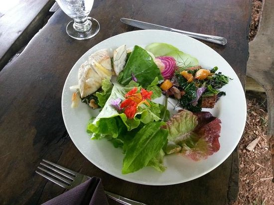 O'o Farm: Here's what my lunch looked like - it was delicious!!