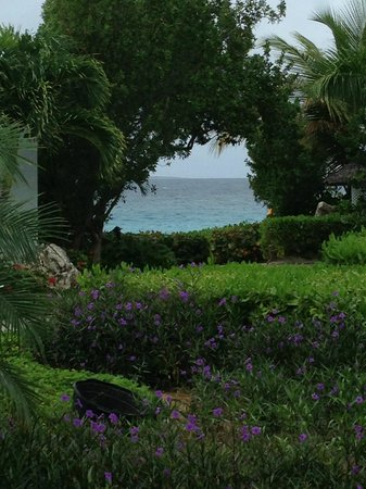 Meads Bay Beach Villas : View of the ocean from villa #2