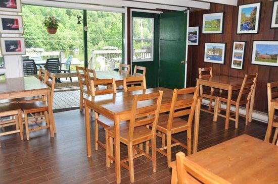 Le Boisé du Lac : Salle a manger - www.boisedulac.com
