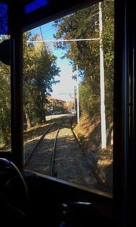 Opicina Tramway: dai finestrini