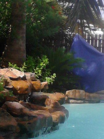 Holiday Inn Express - Houston: Waterfall