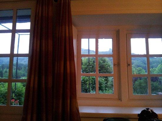 Chambres Dhotes Ohantzea : Vue de la chambre