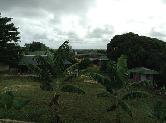 Port of Refuge Villas : Port of Refuge grounds. View from cottage