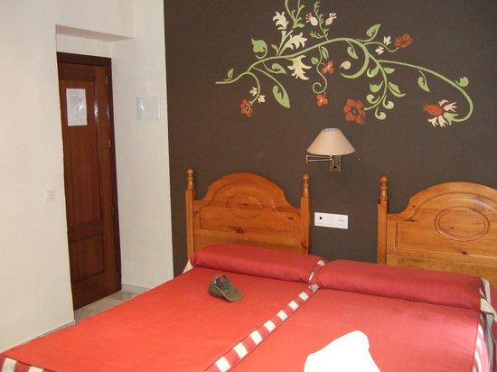 Hostal La Fuente: Hotelkamer