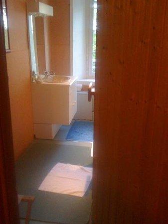 La Sapinière: pièce sauna