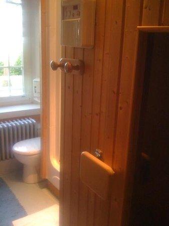 La Sapinière: sauna