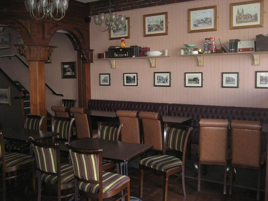 Ronnie Drew's: The restaurant