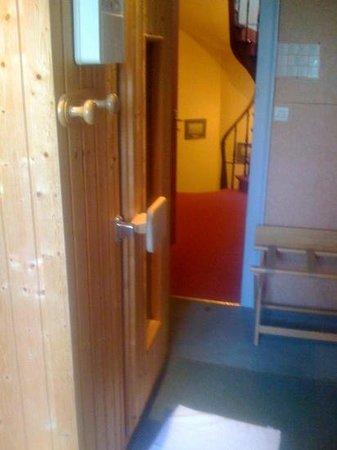 La Sapinière: sauna2