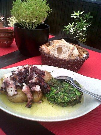 Restaurante Tavola: heerlijke octopus