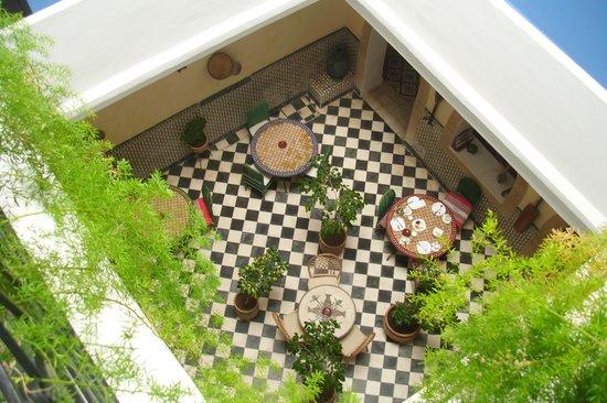 Riad Sidi Magdoul: Panoramica cortile interno