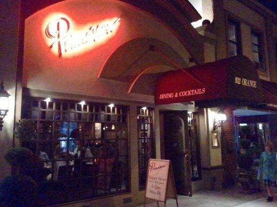 Primavera Ristorante: Primavera between 9th and 10th on Orange Avenue