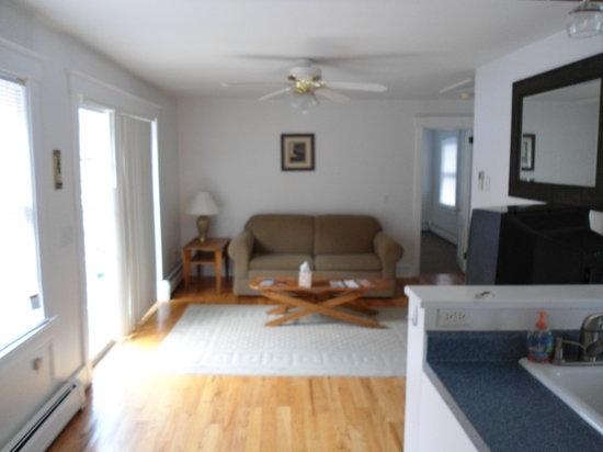 Hammondsport Lodging: Gulf Stream apt. 9 living room