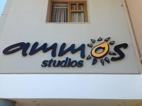 Ammos Studios : Framsidan