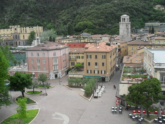 Europa Riva Del Garda: From the roof of the nearby museum.