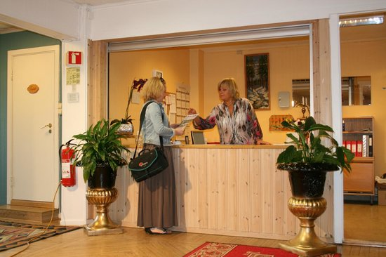 Barents Frokosthotel: reception