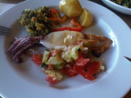 Costa Brava Restaurante: inktvis