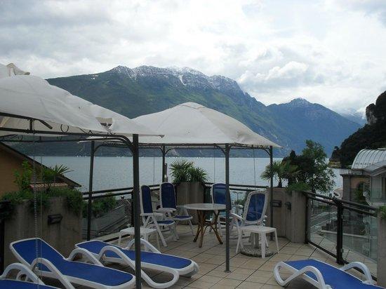 Europa Riva Del Garda: From roof terrace.
