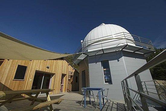 Observatoire des Baronnies Provençales : Le Gite de mission à l'Observatoire
