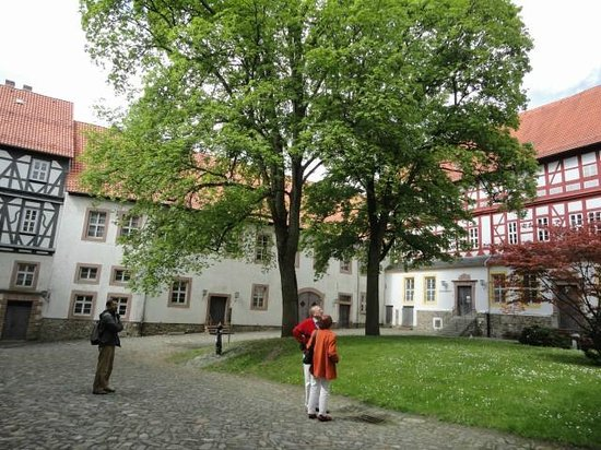 Herzberg am Harz, Alemania: Castle seen from inner courtyard.