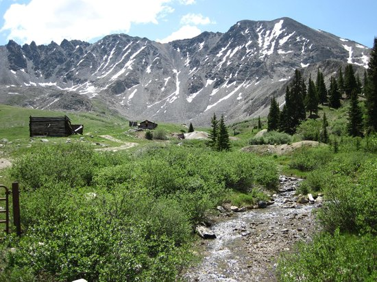 The views never stop!  Mayflower Gulch
