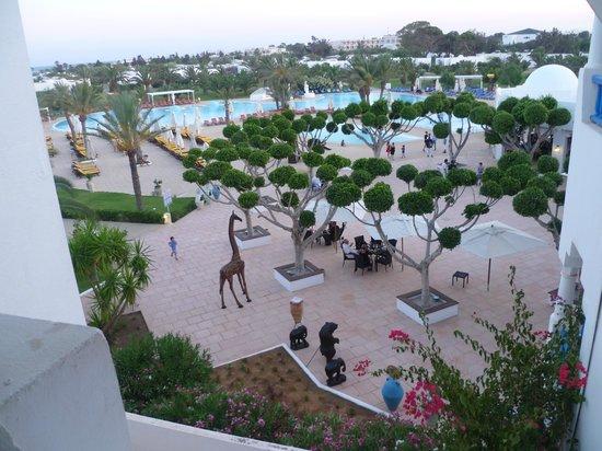 Club Med Hammamet: Vue globale entrée