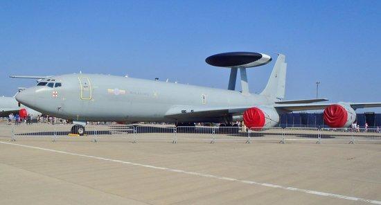 RAF Waddington Airshow: Boeing Sentry AEW1 of 8 Sqn