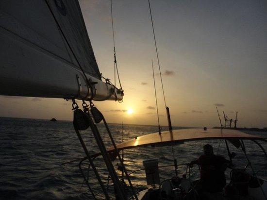 Hotel Riu Palace Aruba: Sunset cruise with The Tranquilo