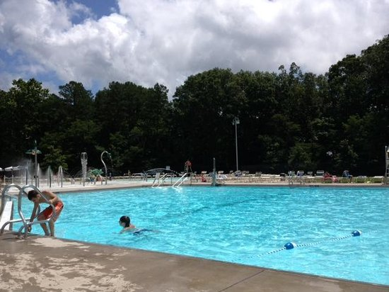 O'Bannon Woods State Park: The pool