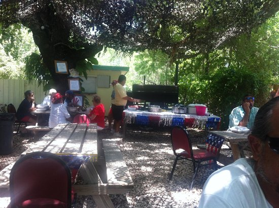 July 4th BBQ at the American Legion post 333 in Key Largo FL.