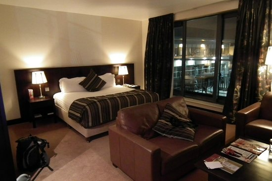 Carlton Hotel Dublin Airport: The rooftop suite.