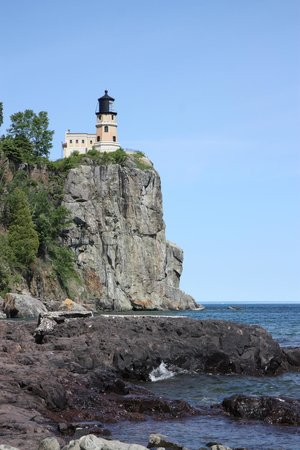 Gooseberry Park Cottages and Motel : Splitrock Lighthouse is a few mins drive away and a great tour!