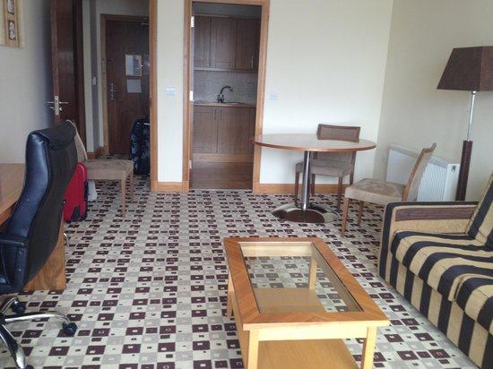 The Connacht Hotel: One bed apt