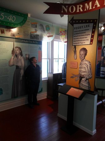 Midland Continental Depot Transport Museum: More of Miss Peggy Lee's history