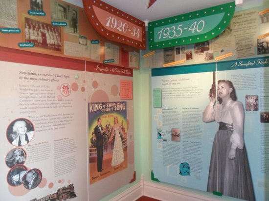 Midland Continental Depot Transport Museum: History of Miss Peggy Lee