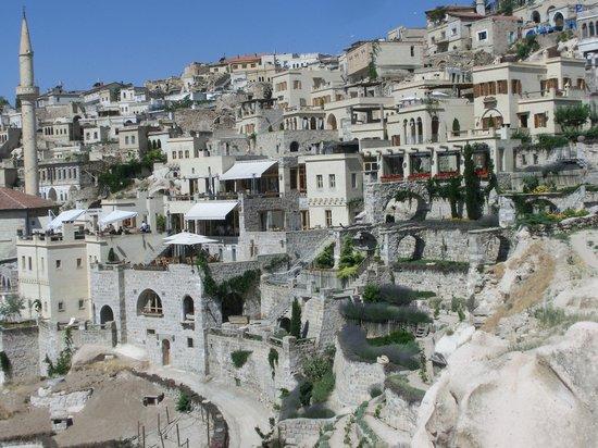 Argos in Cappadocia: Blick auf die Hotelanlage