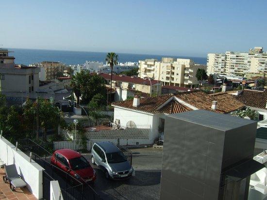 Hotel Natursun: Uitzicht (front rechterzijde)