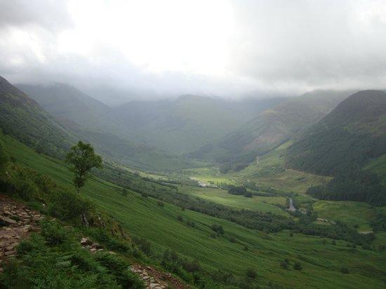 Lochaber Lodges: View from climb up Ben Nevis