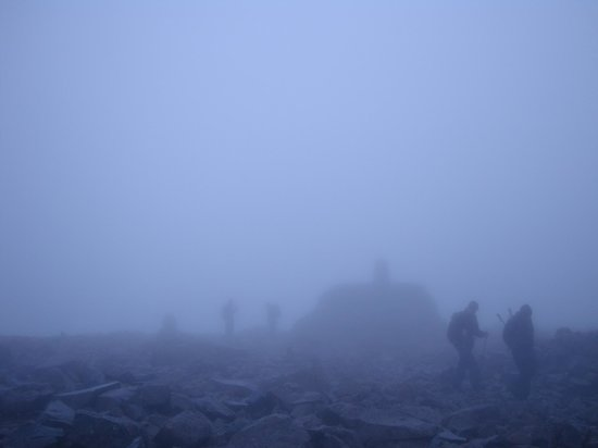 Lochaber Lodges: The Summit of Ben Nevis- not for the feint hearted!