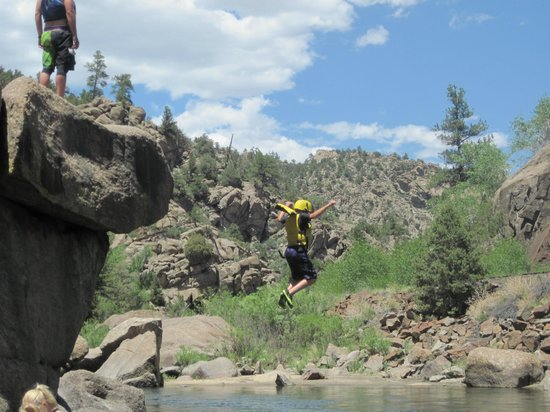 Arkansas Valley Adventures: jump rock