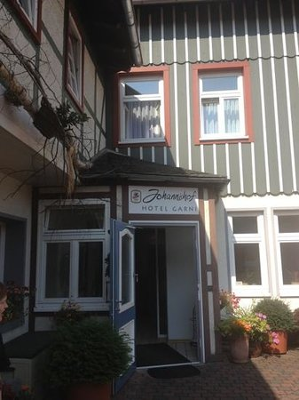 Hotel Garni Johannishof: Eingang