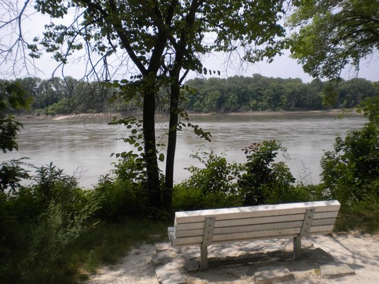 Katy Trail State Park: stopping point along the Missouri