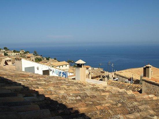 Son Borguny: Vistas al mar desde la habitación El Sol