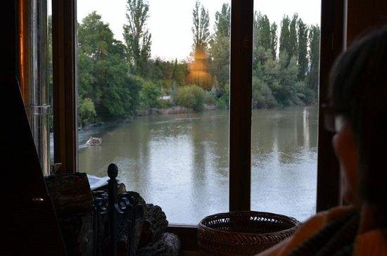 Fuente Aceña: Vista del Duero desde el comedor