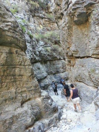 Imbros Gorge: Narrow passage