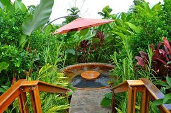 Nayara Hotel, Spa & Gardens: private jacuzzi
