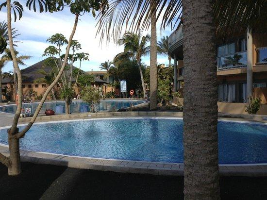 Iberostar Fuerteventura Palace : The pool area - normally full of people & kids