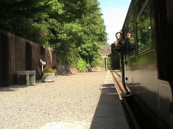Waterford & Suir Valley Railway: About to Depart