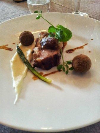 Hostellerie de la Renaissance: Le plat ! une merveille pour le goût !